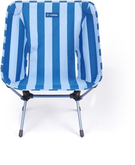 Helinox One Chaise, blue stripenavy